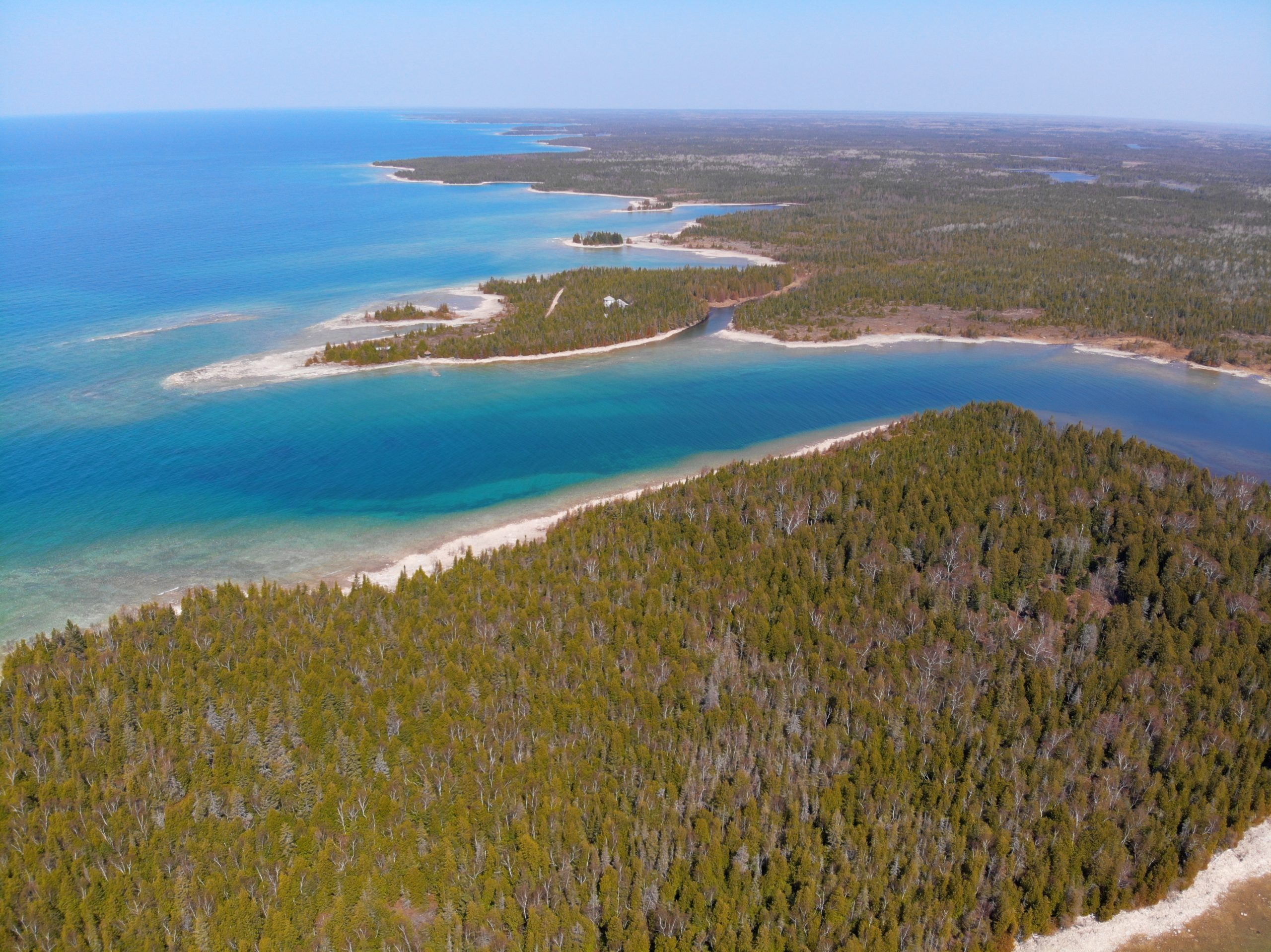Bradley Harbour – 20,000 Feet of waterfront and 750 acres (approx)